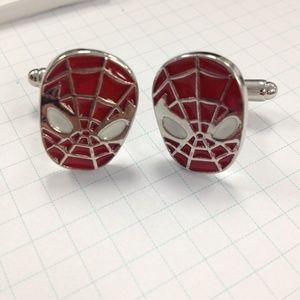 Other - NIB Spider-man cuff links.